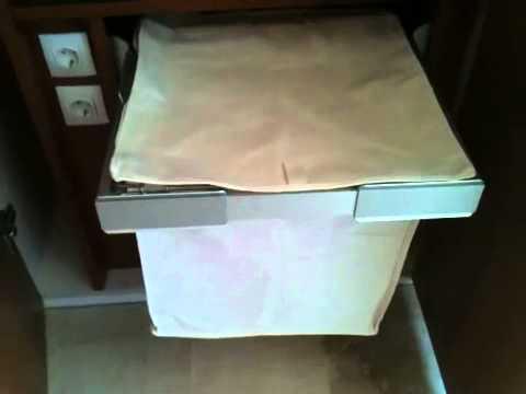 Cesto para ropa en armarios youtube - Armarios para ropa ...