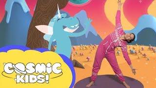 Saturday Morning Yoga | Twilight The Unicorn adventure
