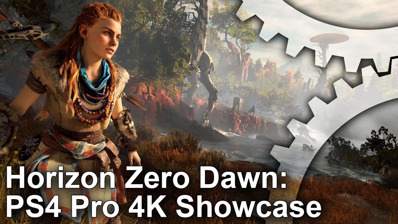 FREE DOWNLOAD: Horizon Zero Dawn PS4 Pro 4K Showcase