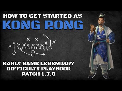 How To Get Started As Kong Rong | Early Game Legendary Difficulty Playbook Patch 1.7.0