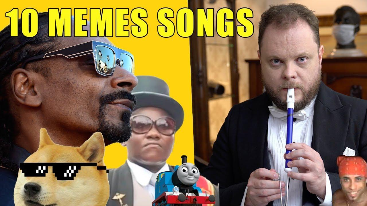 10 Memes Songs on the Slide Whistle