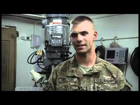 U.S. Army Machine Shop @ Kandahar Airfield, Afghanistan
