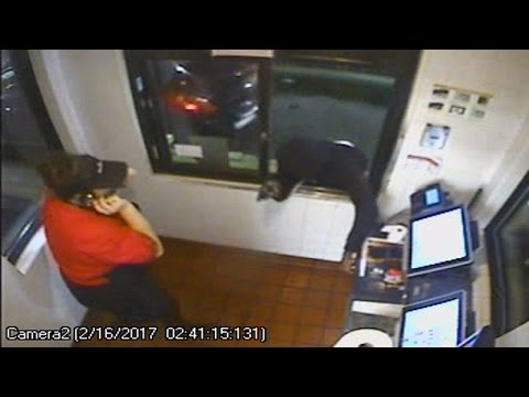Real 'Hamburglar' Strikes At McDonald's, Making Off With Cash Register: Cops
