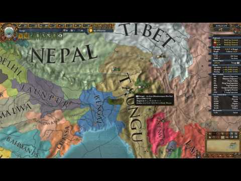 EU4 MoH achievements: First Toungoo Empire 5 of 8