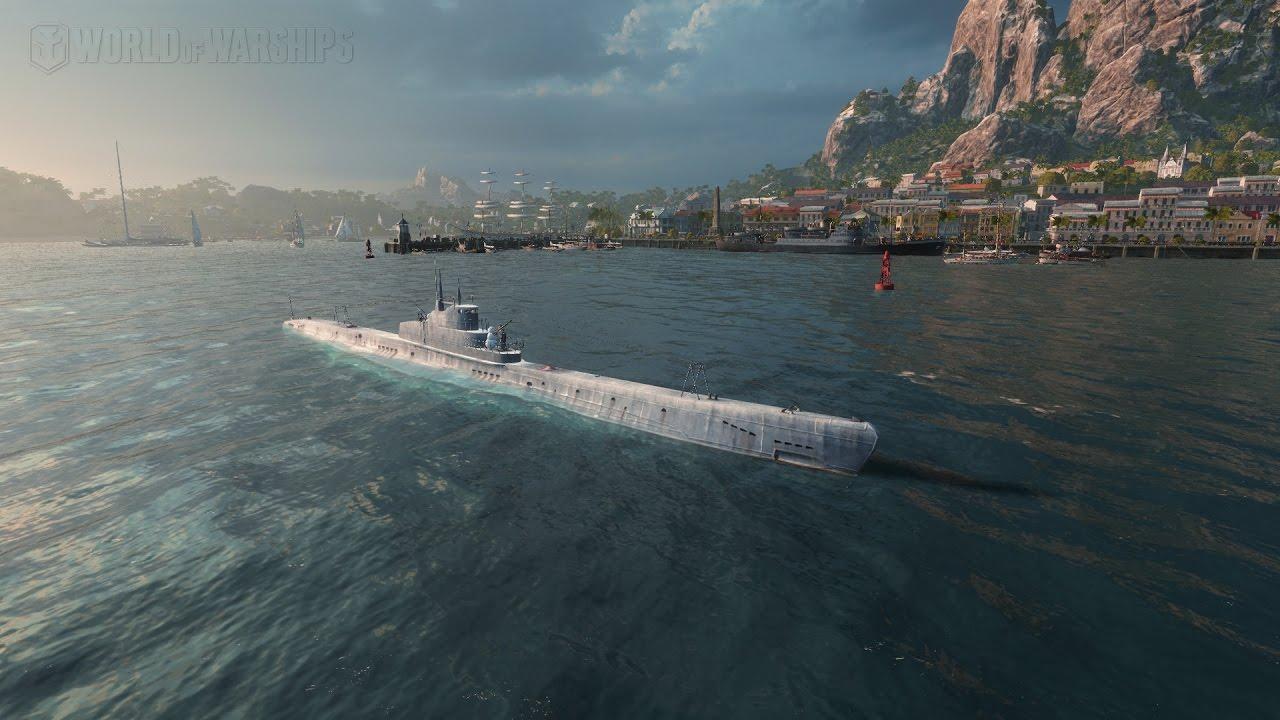 world of warships u boot
