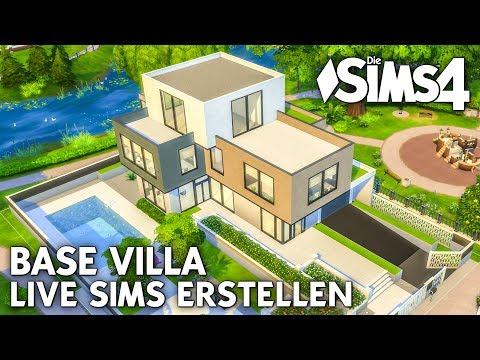 Sims erstellen (CAS) für die Base Villa | Let's Play LIVE Die Sims 4