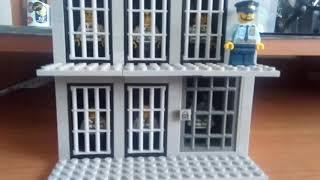 самоделка тюрьма из лего