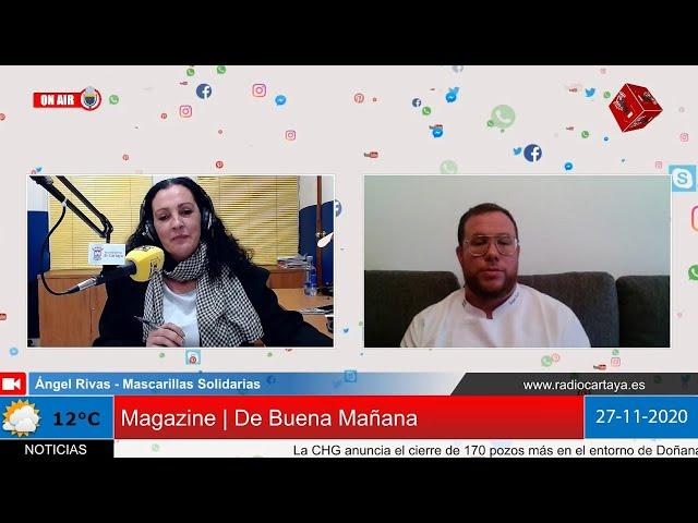 Radio Cartaya   El onubense Ángel Rivas dona más de 7.500 mascarillas solidarias
