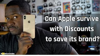 Can Apple survive with Discounts to save its brand???