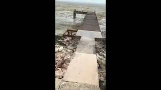 Hurricane Irma so powerful there is no water in Long Island, Bahamas