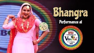 Bhangra | Amandeep Kaur | Vibgyor 2k19 | BFGI | Student Performance