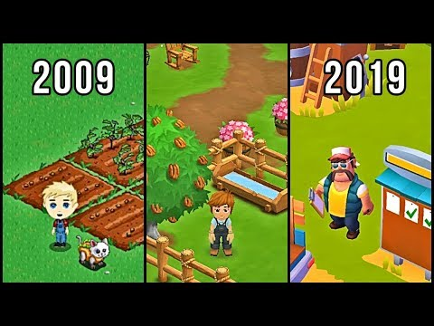 Evolution Of FarmVille 2009-2019
