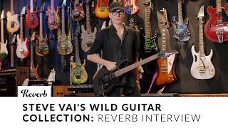 Steve Vai's Wild Guitar Collection | Interview