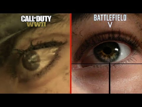 Battlefield 5 Vs Call Of Duty Ww2 Attention To Detail Youtube