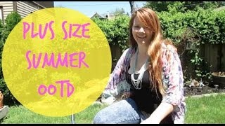 Plus Size Spring/Summer OOTD Featuring Forever 21 Plus Thumbnail