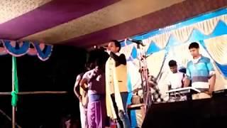 Jadu Rana Bonoful Jhumur Akhra//যদু রানা নতুন ঝুমুর গীত 'খুকড়ি টা কটকটাল পুহায় গেল রাত'
