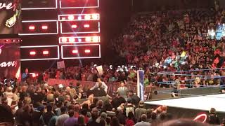 WWE Smackdown Live 6/19/18: Tom Phillips,Byron Saxton and Corey Graves entrance before SD!