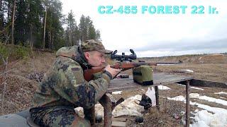 CZ 455 FOREST 22 lr Стрельба сверхзвуком на 110 метров Подобрали точный патрон