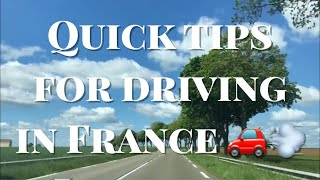 Tips For Driving In France | What We Wish We Had Known!!