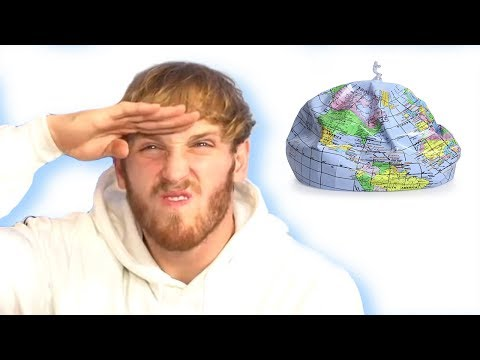 Logan Paul Slammed For Trolling Flat Earth Society | Hollywoodlife