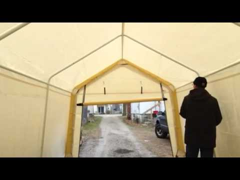 Portable garage door opener - YouTube