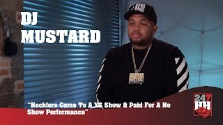 DJ Mustard Hecklers Came To A YG Show & Paid For A No Show Performance (247HH Wild Tour Stories)