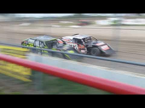 Aj Ward racing @ I-96 speedway 7/26/19 Heat race