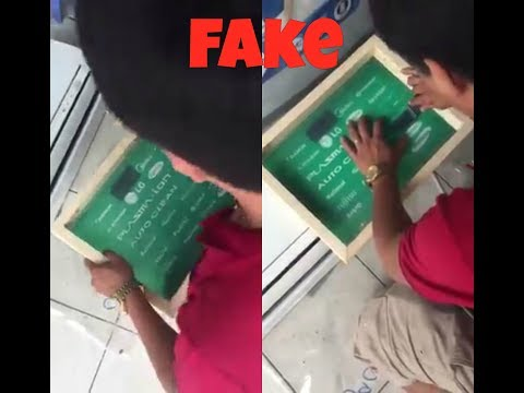fake/duplicate a/c producers rangers caught |alert- fake things-fake people-air conditioner
