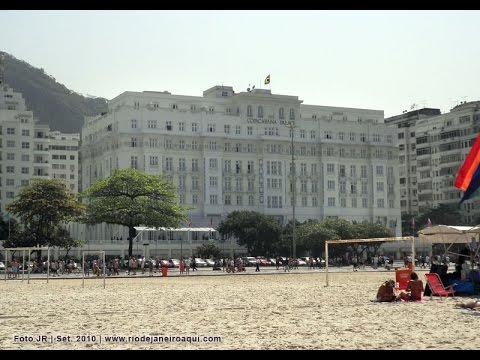 #Tour  Pelo Hotel Copacabana Palace Rio de Janeiro  - Canal da Joaninha