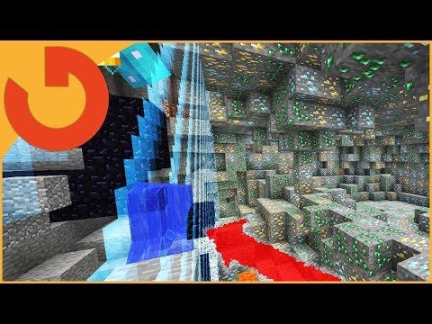 Minecraft Trolling: CHANGING ENTIRE WORLD BORDER TO ORES!