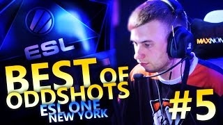 CS:GO - THE BEST OF ODDSHOTS - ESL NEW YORK #5 (ft. Liquid,SK,VirtusPro,NaVi,Fnatic)