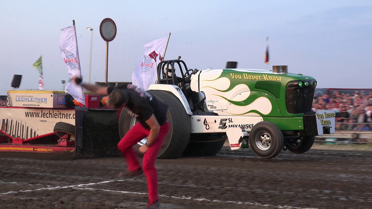Super Stock 35t Tractor Pulling Edewecht 2018 By Mrjo Youtube