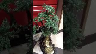 Очень красивая дерево из бисера