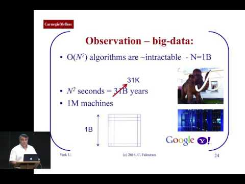 "Christos Faloutsos - ""Mining Large Graphs: Patterns, Anomalies, and Fraud Detection"""