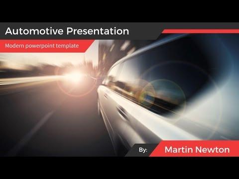 Automotive presentation template youtube automotive presentation template toneelgroepblik Images