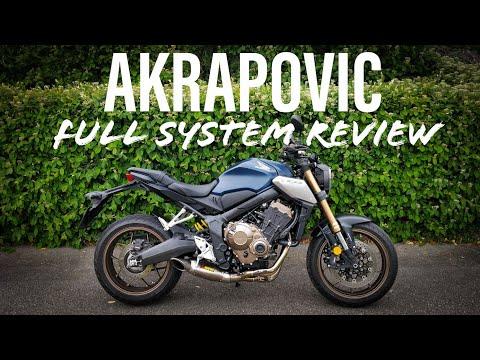 2019 Honda CB650R | Akrapovic Full System Review!