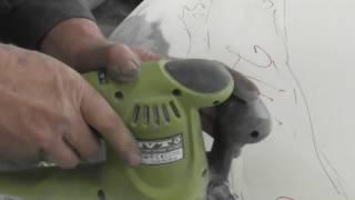 Покраска,подготовка Ссанг Йонг  ч 1