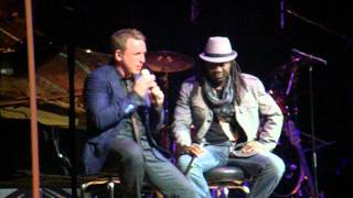 Elage Diouf & Johnny Reid at Massey Hall