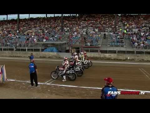2014 Indy Mile - Dash for Cash, LCQ and Semi-Final Races - AMA Pro Flat Track