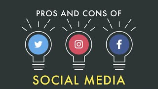 an examination of the pros and cons of the media The pros and cons of increasing role of social media in politics people are turning to social networks, mainly facebook and twitter, but this time not to chat with.