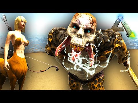 ARK GIANT OGRE, CENTAUR, MERMAID AND MUCH MORE!! Ark Surviva