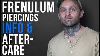 Frenulum Piercing Information & Aftercare   UrbanBodyJewelry.com
