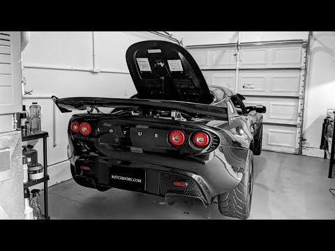 MITCH DORE | How To Install Hydraulic Trunk Lid Strut Kit Lotus!!