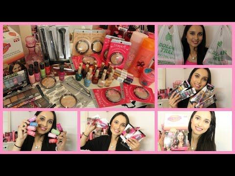 Dollar Tree Beauty And Makeup Spree!
