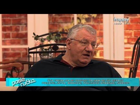 Војислав Шешељ у емисији 'После ручка' на ТВ Хепи.