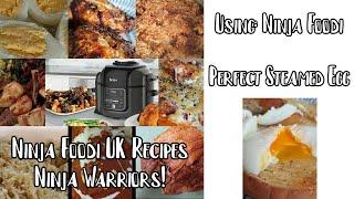 Ninja Foodi UK Recipes  Steamed Eggs