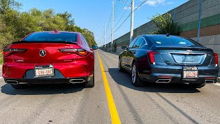 2021 Acura TLX A Spec vs Cadillac CT5 Sport, which one is faster and better?