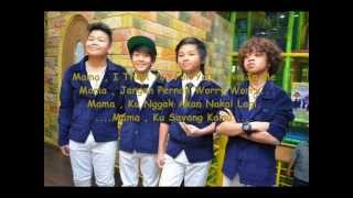 CJR - Mama ( Picture + Lyrics )