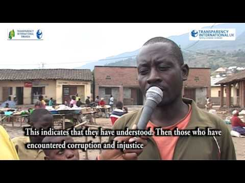 Transparency International Rwanda   Transparency International UK   Outreach Activities and legal Mo