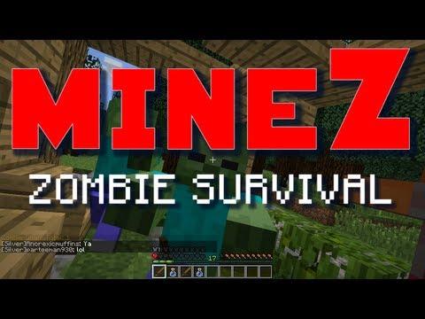 "Minecraft MineZ - E04 ""Wolv is Immortal"" (Zombie Survival Server)"